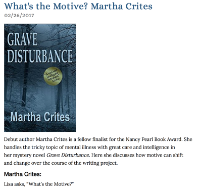 Guest Author at Lisa Brunette's What's The Motive Blog